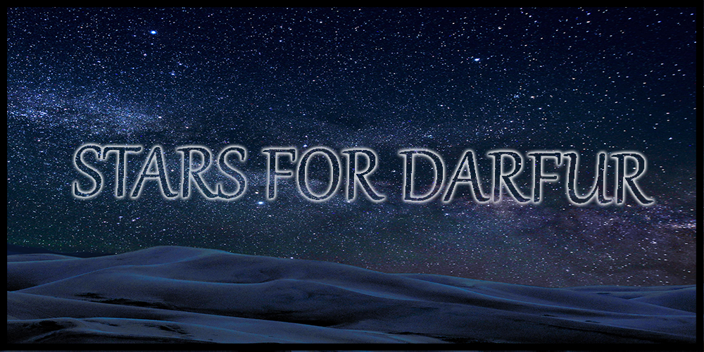 Stars for Darfur Banner
