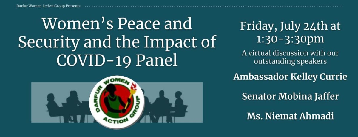 In Response to: The Women's Peace and Security Agenda & The Impact of COVID-19 on Women Panel