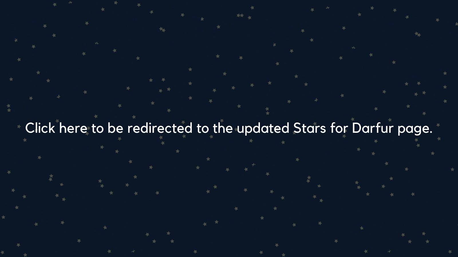 Stars for Darfur_Twitter Post