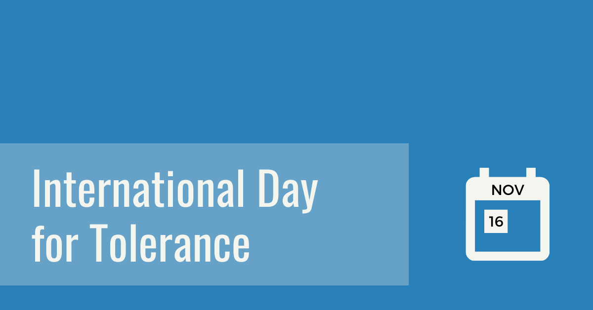 DWAG Day of Tolerance Banner 2