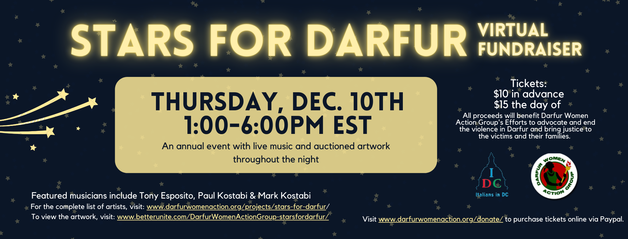 Stars for Darfur_FB Cover